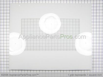 "Bosch Assy, Door Glass 27""WHT 00142737 from AppliancePartsPros.com"
