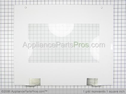 "Bosch Assy, Door Glass 27""WHT 142737 from AppliancePartsPros.com"