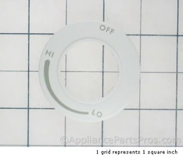 Bosch Bezel, Sgc White 414777 from AppliancePartsPros.com