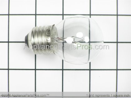 Bosch Bulb 00166016 from AppliancePartsPros.com