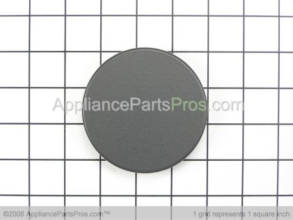 "Bosch Burner Cap Assembly ""c"" Matte Blk 00189335 from AppliancePartsPros.com"