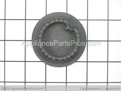 Bosch Burner Cap, Medium, Black 00421242 from AppliancePartsPros.com
