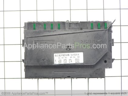 Bosch Control Module, 3-Program, Shu 88 00186923 from AppliancePartsPros.com