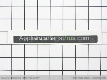 Bosch Control, Overlay Label (phe) 00415293 from AppliancePartsPros.com