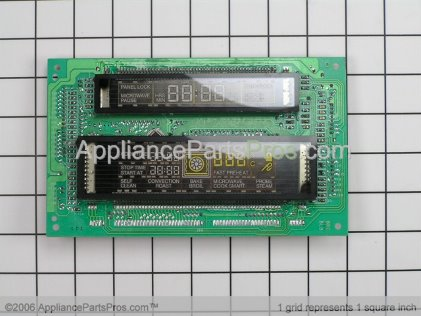 Bosch Display Head Sgl Oven X301 00486297 from AppliancePartsPros.com