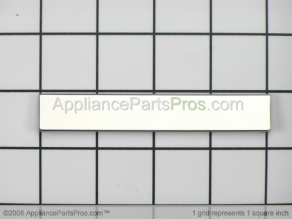 Bosch Door Latch Cover (ss) 00166881 from AppliancePartsPros.com