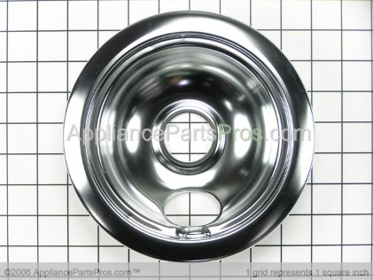 Bosch Drip Pan, 6 In. (w/hole) 00484629 from AppliancePartsPros.com