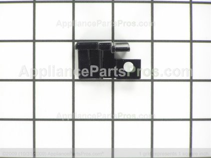 Bosch Endcap, Door Glass, Supt Rh, Black 00414390 from AppliancePartsPros.com
