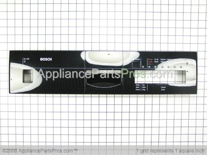 Bosch Fascia, Black, Shu 6806 351657 from AppliancePartsPros.com