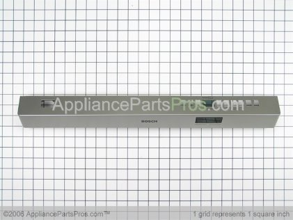 Bosch Fascia Panel 00431784 from AppliancePartsPros.com