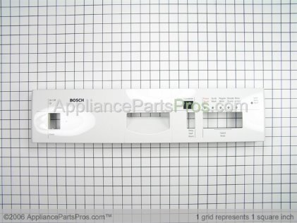 Bosch Fascia, White, Shu 5312 00351673 from AppliancePartsPros.com