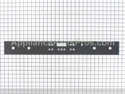 Bosch Glass, Control Panel Seq Gas, Black 00484749 from AppliancePartsPros.com
