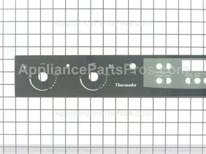 Bosch Glass, Control Panel Seq Gas, Black 484749 from AppliancePartsPros.com