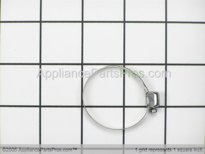 Bosch Hose Clamp, Pump to Heater (softer Bearing) 00172272 from AppliancePartsPros.com