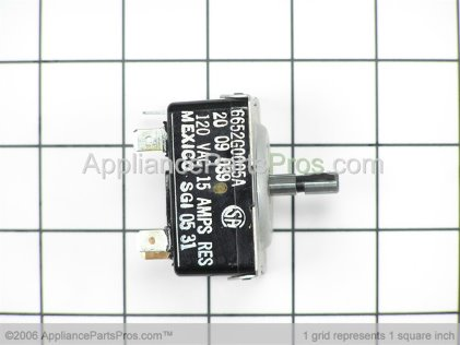 Bosch Infinite Switch 120V 414569 from AppliancePartsPros.com