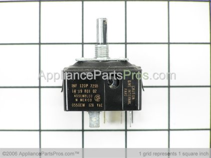 Bosch Infinite Switch, 120V 00414689 from AppliancePartsPros.com