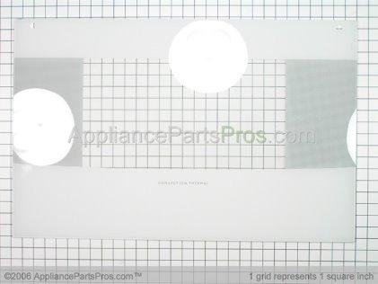 "Bosch Kit-Door Glass 30""RANGE White 00143003 from AppliancePartsPros.com"