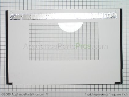 "Bosch Kit-Door Glass 30""RANGE White 00143003 from AppliancePartsPros.com"