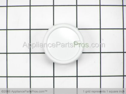 Bosch Knob, Control White 411362 from AppliancePartsPros.com