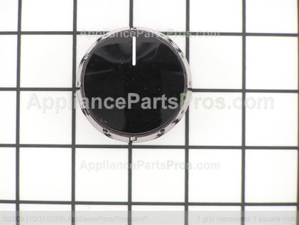 Bosch Knob, Cooktop Electric, Black 00189472 from AppliancePartsPros.com