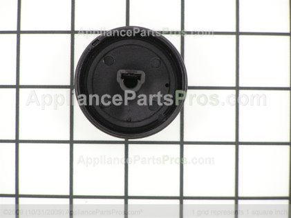 Bosch Knob, Cooktop Electric, Black 189472 from AppliancePartsPros.com