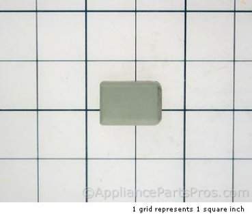 Bosch Knob, Latch Lever, White 415367 from AppliancePartsPros.com