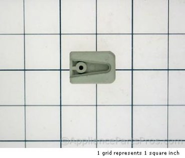 Bosch Knob, Latch Lever, White 00415367 from AppliancePartsPros.com
