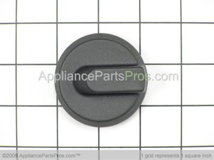 Bosch Knob, No Graphics Blk 414754 from AppliancePartsPros.com