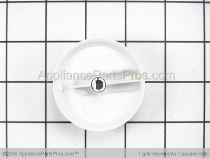 Bosch Knob, No Graphics, White 00414755 from AppliancePartsPros.com