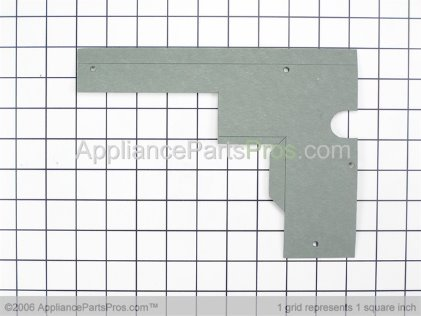 Bosch Magnetron Shroud, Left 00486865 from AppliancePartsPros.com