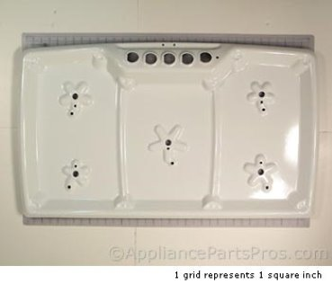 Bosch Main Top /365 White 238437 from AppliancePartsPros.com