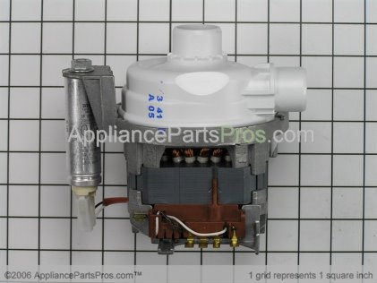 Bosch Motor 00437345 from AppliancePartsPros.com