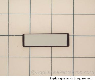 Bosch Nameplate, Thermador Blk 00189348 from AppliancePartsPros.com