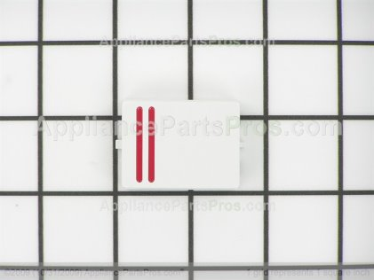Bosch On/off Button (white) 00165244 from AppliancePartsPros.com