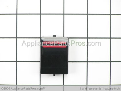 Bosch On/off Button, Black 00168562 from AppliancePartsPros.com
