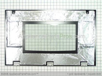 Bosch Outer Door (glass), Ss Trim, Hbl 755/765 00239421 from AppliancePartsPros.com