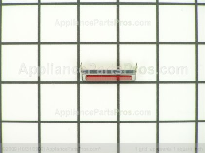 Bosch Pilot Lens (red)(st) 00411206 from AppliancePartsPros.com