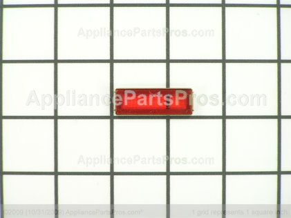 Bosch Pilot Lens (red)(st) 411206 from AppliancePartsPros.com