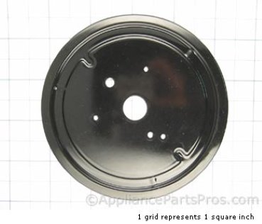 Bosch Plate, Burner D, Black 00484719 from AppliancePartsPros.com