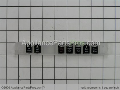 Bosch Push Button Pad 00184591 from AppliancePartsPros.com