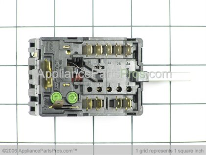 Bosch Switch, Bridge Infinite SR13/23 00414701 from AppliancePartsPros.com