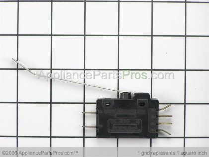 Bosch Switch, Bucket Control 415252 from AppliancePartsPros.com