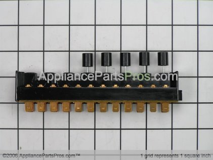 Bosch Switch, Selector 5-Pushbutton (MCB265) 00414489 from AppliancePartsPros.com