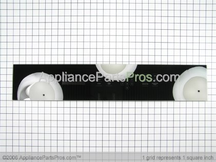 Bosch Touch Control Glass Panel 00368769 from AppliancePartsPros.com