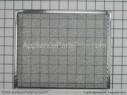 Broan Aluminum Range Hood Filter 97006931 from AppliancePartsPros.com