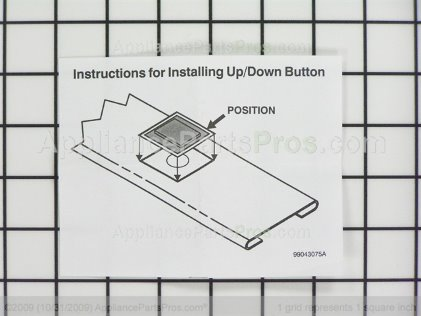 Broan Button S99111235 from AppliancePartsPros.com