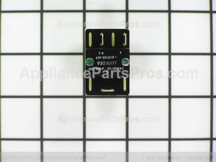 Broan Switch S93030117 from AppliancePartsPros.com