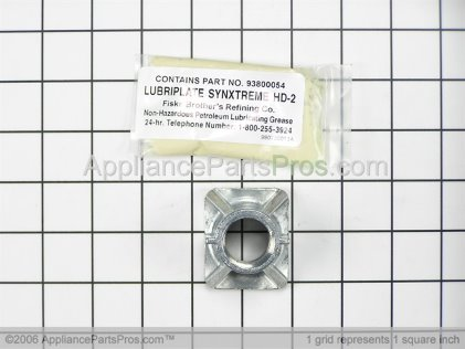 Broan Trunnion Nut 93840003 from AppliancePartsPros.com