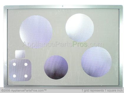 Dacor Asy, Glass/panel 13554BG from AppliancePartsPros.com