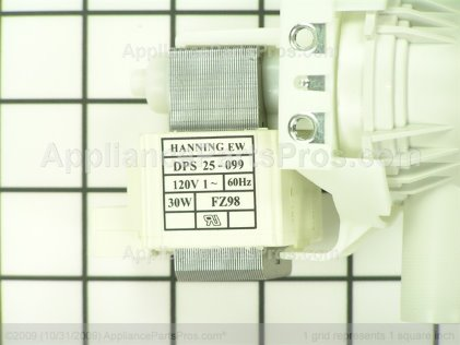 Dacor Drain Pump /24/30 72113 from AppliancePartsPros.com